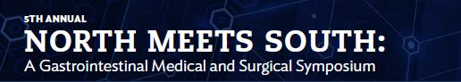 2019 North Meets South: A Gastrointestinal Medical and Surgical Symposium Banner